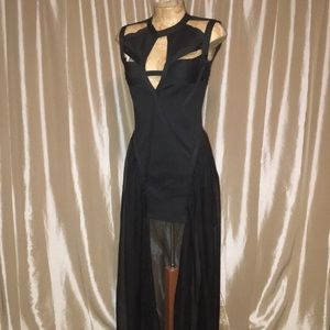 Unif Black Dress Size Small Godspeed bandage